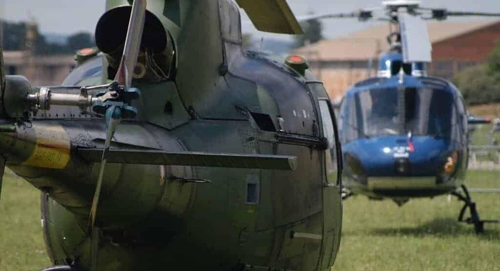 Choose helicopter transport for urgent maintenance operations