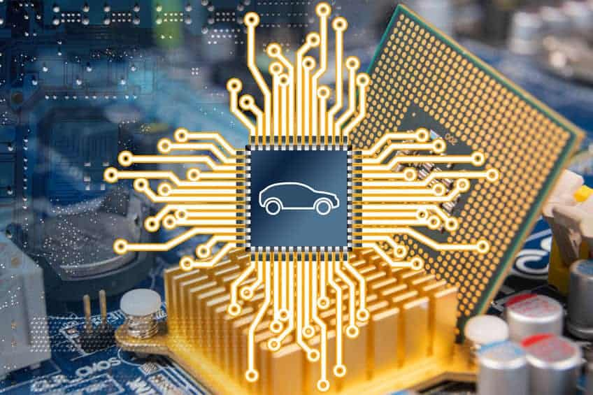 Semiconductor crisis - Automotive industry