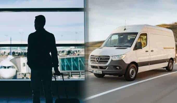 Cuando el servicio de mensajería a bordo supera el servicio express en furgoneta